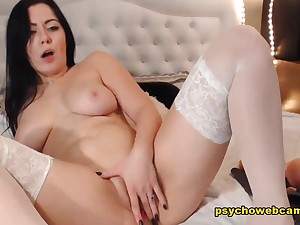 An Angel Black-hearted Gets Naughty And Wild Live