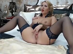 Pretty good Webcam Girl With Big Fake Tits