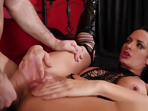Super Sub In all directions Throated After Electrosex