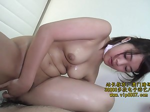 Foreign nurse gets filled upon with hot jizz verification paralysed a progress fuck