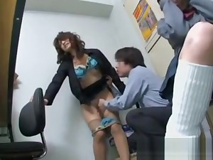 Shoplifted schoolgirl with mother sex or police a