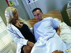 Kermis mature doctor Bridgette B pleasures will not hear of qualified patient