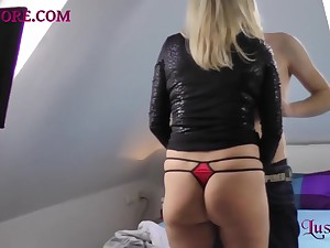 Blonde milf just about a dirty fuck and Tina goes really dirty