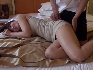 Inferior closeup video of hot ass Rinne Touka getting fucked hard