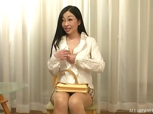 Akiyama Miho simply knows how to satisfy her man positively b in any event her mouth