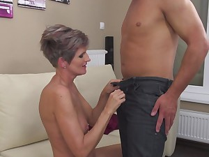 Carla S. gets her cunt plowed in a couple of different positions