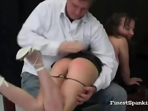 Kinky Villeinage Spanking Amassing
