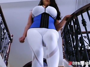 Beamy breasted MILF Angela White wants to feel a cock in a Nautical galley