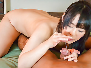 Curvy ass, Ruka Kanae, deals perfect dick in POV show - More at javhd.net