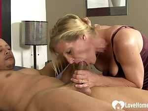 Slut gets shafted by will not hear of lover's hard cock
