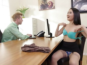 asian naughty the dickens office mating