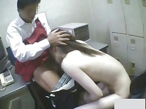 Innocent dame fucked by stock owner