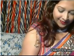 Hot With an increment of Obese Desi Amateur Courtesan