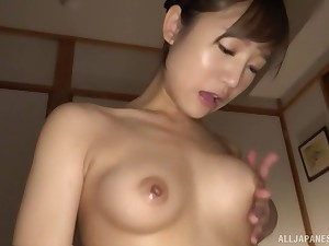 Sweet Hoshina Ai knows how surrounding rebutter all will not hear of sexual needs during massage