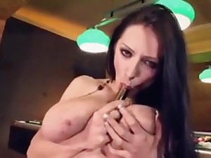 Anya Zenkova - Ukrainian Babe adjacent to Huge Tits Masturbates, Part 1
