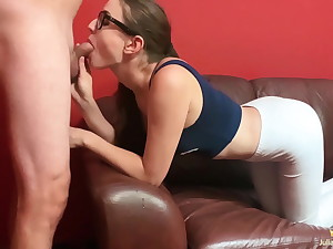 Hot Brunette Blowjob Dick Compilation POV